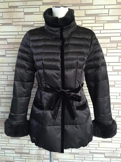 レオナールの毛皮付きシルクダウンジャケットのクリーニング2